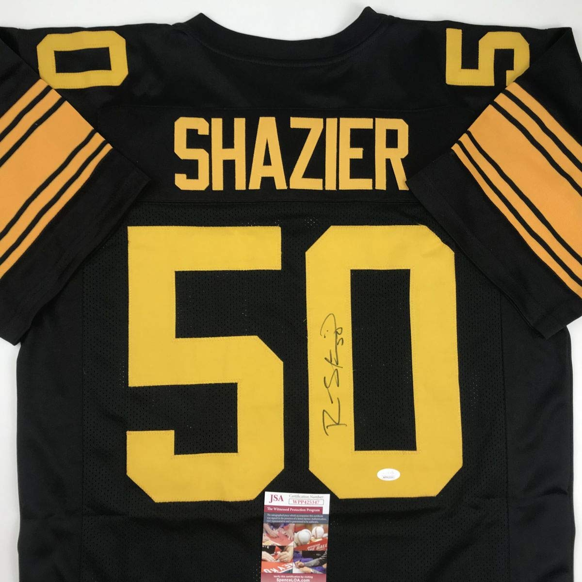 online store 166a1 f12ed Autographed/Signed Ryan Shazier Pittsburgh Color Rush ...