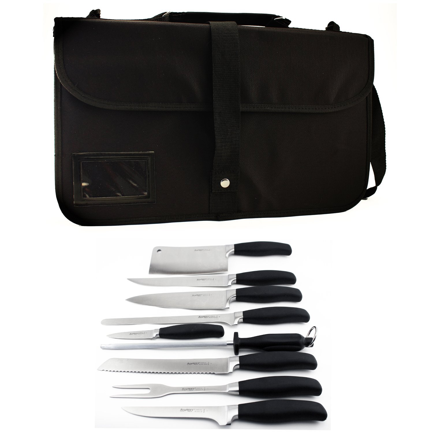 Berghoff Folding Wrap 10-Piece Knife Set