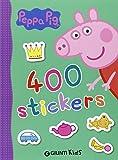 400 stickers. Peppa Pig. Con adesivi
