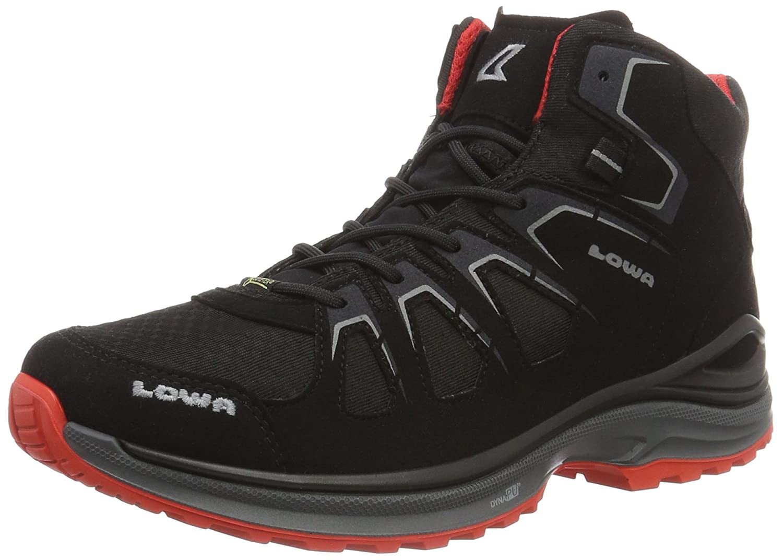 Lowa Innox Evo GTX Qc, Chaussures de Trekking Et Randonnée Homme Noir (noir noir) 42 EU