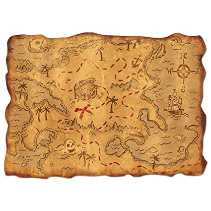 Amazon.com: Beistle Club Pack Jumbo Pirate Treasure Map ... on blood map, eso craglorn map, ocean map, monster map, rail map, old boston map, bad map, army map, money map, alien map, success map, travel map, forest map, cruise map, ancient egyptian map, love map, address map,