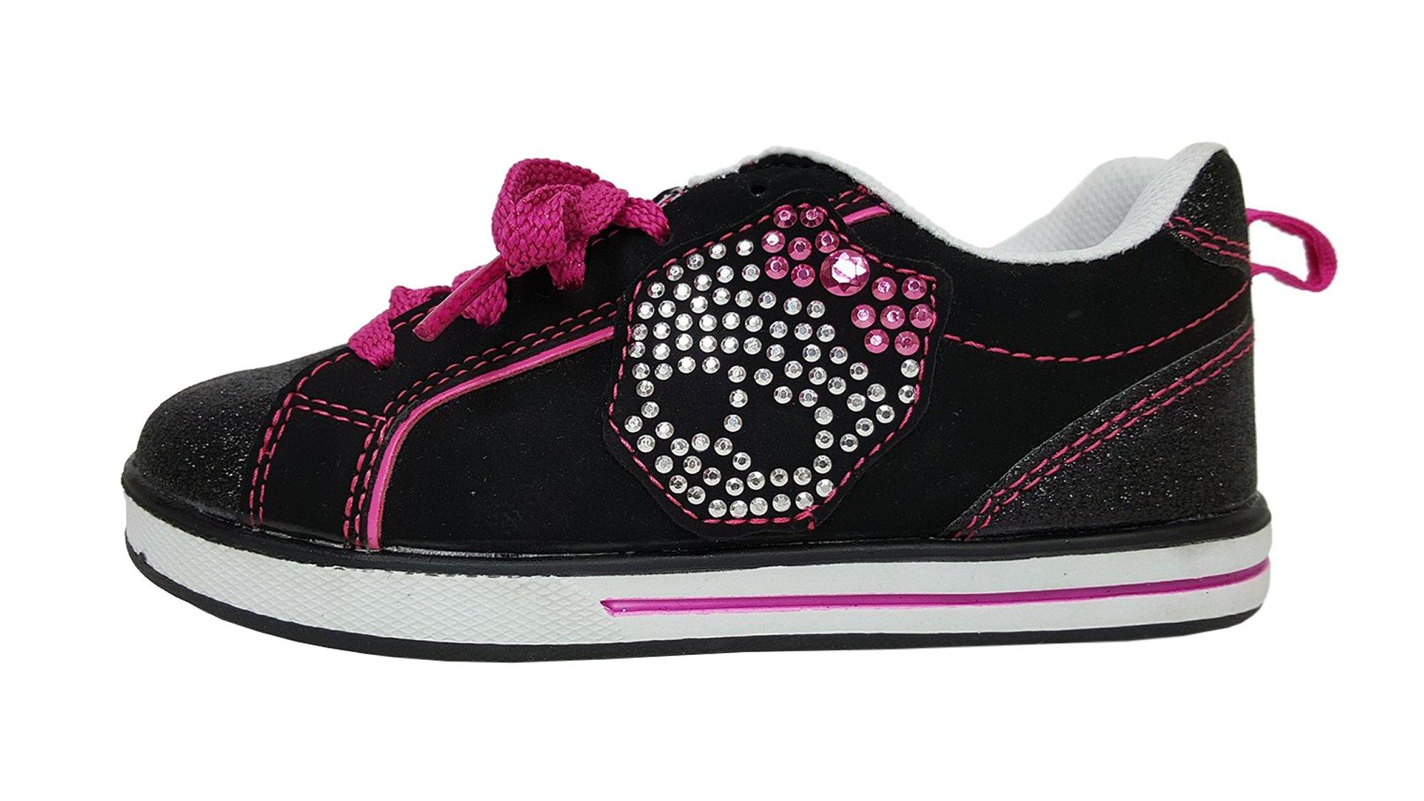Monster High Girls Sparkle Stud Skate Shoes (3)