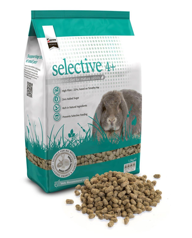 Supreme PET-210007 Lapin Sélectif 4+ (1, 5 kg) Supreme Petfoods