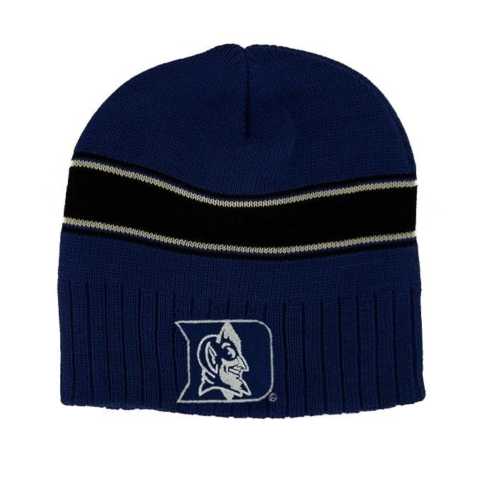 cb88214660d39 ... italy duke university blue devils embroidered beanie hat knitted skull  cap 21753 7b603