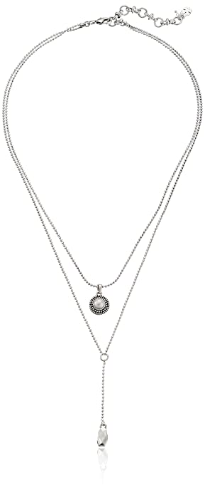 Nightmarket Necklaces, Light Grey, Pearl, 2017, One Size