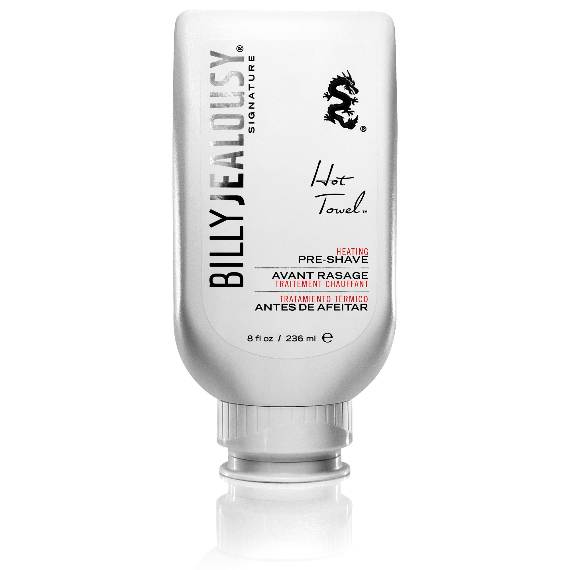 Billy Jealousy Hot Towel Pre-Shave Treatment, 8 Fl Oz