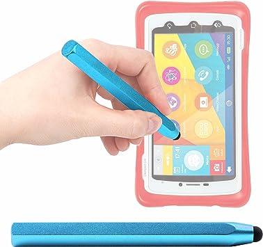 DURAGADGET Lápiz Stylus Azul para Smartphone para niños Clementoni ...