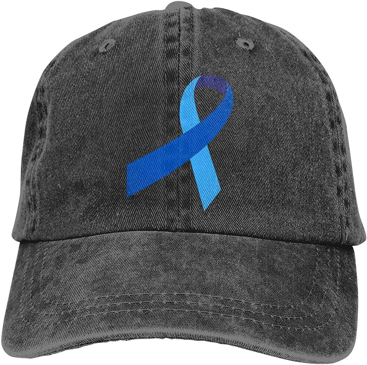 Prostate Cancer Unisex Trendy Cowboy Hat Sun Hat Adjustable Baseball Cap