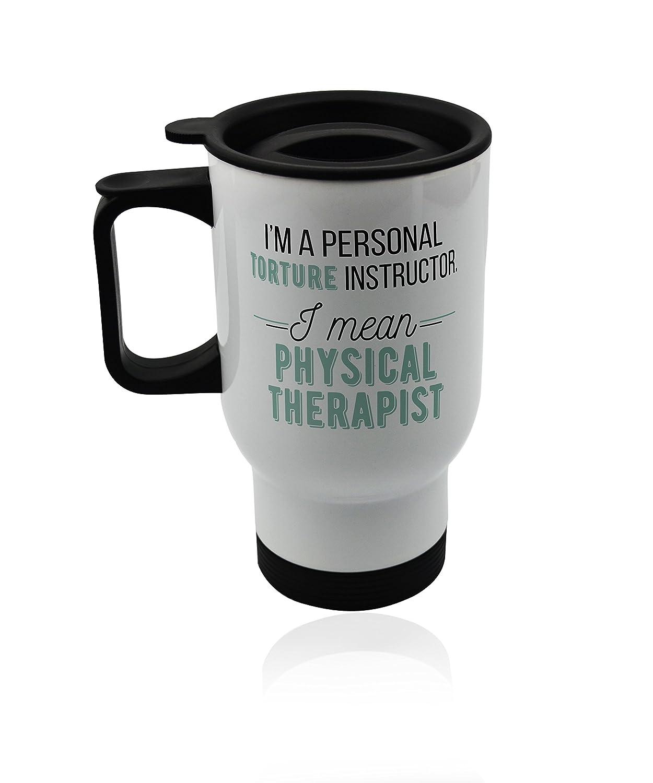 Amazon.com: café taza de viaje de coche para un terapeuta ...