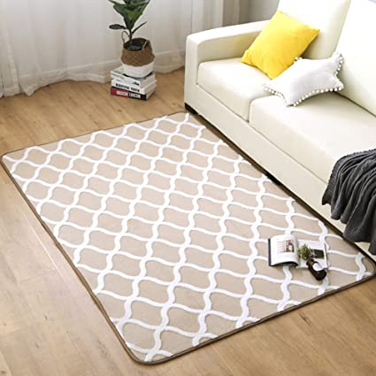 Amazon.com: Ukeler Non-skid Washable Floor Accent Rugs for Living ...