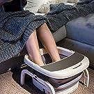 足湯 フットバス 折りたたみ バブル機能 保温フットバス バブルフットバス マッサージ 温水洗濯機 頭寒足熱対策 リラックス