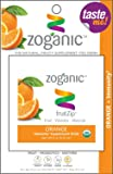 Zoganic fruitZip Herbal Antioxidants Supplement Drink Mix for Immune Support - Organic vitamin C & Echinacea Straight from the Fruit with Orange flavor. Sweetened with Stevia - 1 Powder Packet