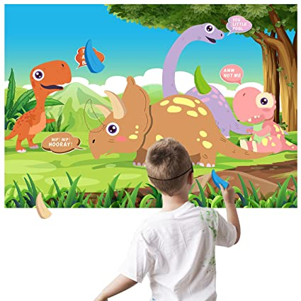 Amazoncom Birthday Party Games For Boys Dinosaur Party Supplies