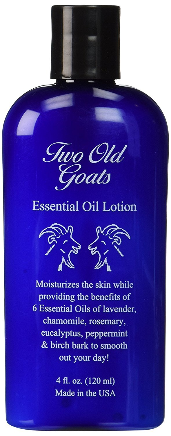 Two Old Goats Essential Oil Lotion 4 fl oz by Two Old Goats