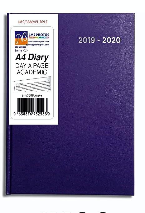 JMS® 2019-2020 - Agenda académica (tamaño A4, día por página ...