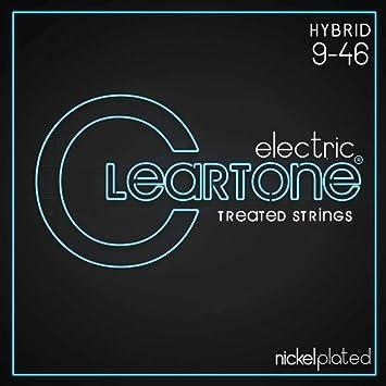 Cleartone 9419 - Cuerdas de guitarra eléctrica, calibre 9-46: Amazon.es: Instrumentos musicales