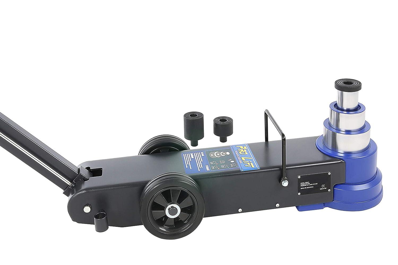 30t Pro-Lift-Werkzeuge Rangierwagenheber pneumatisch Teleskop 50t 15tDruckluft-Stahl-Wagenheber 3-stufig Pneumatikantrieb Werkstatt 50t//30t//15t professionell Druckluftheber LKW PKW