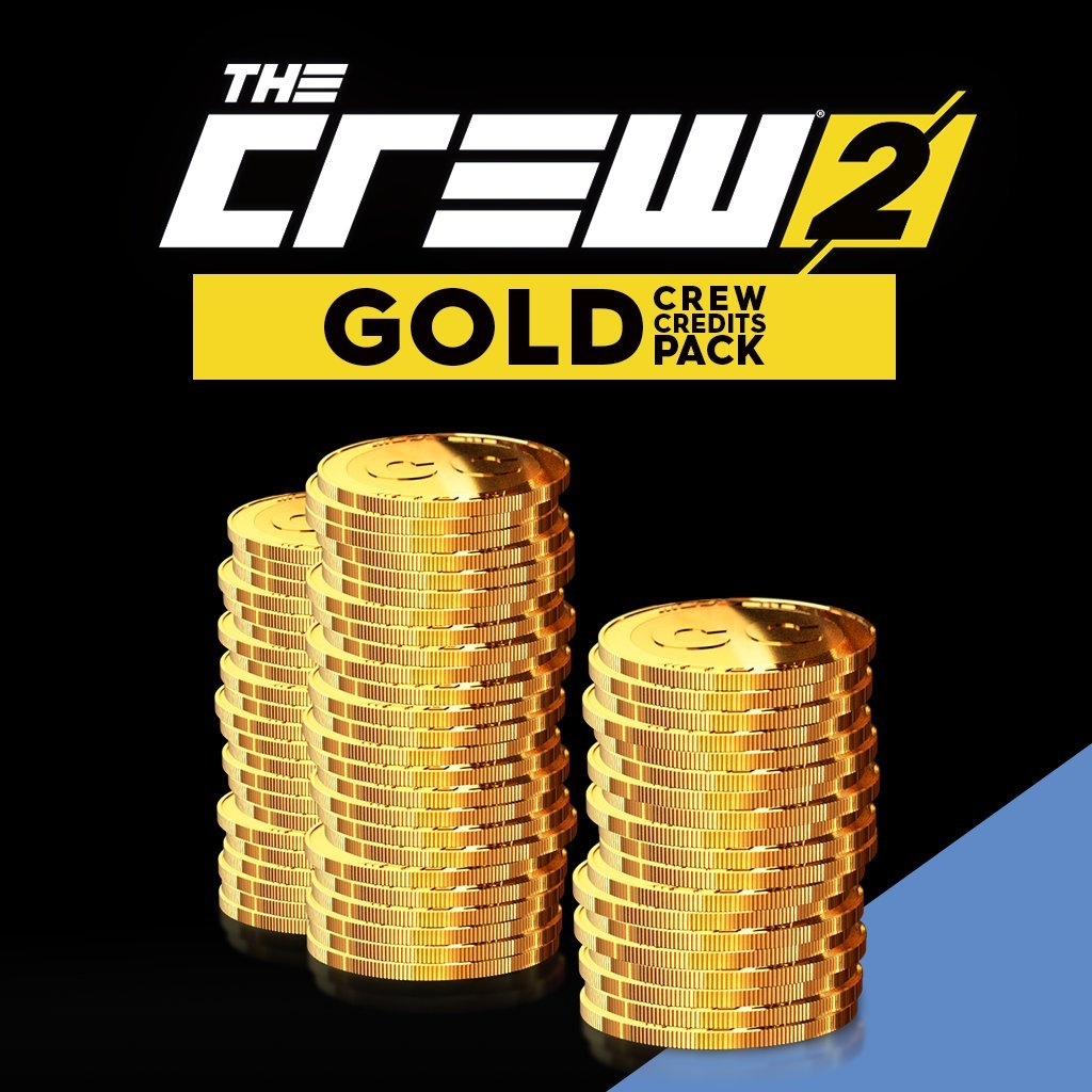 THE CREW 2:  GOLD CREDITS PACK (270000 + 90000 BONUS) - PS4 [Digital Code]