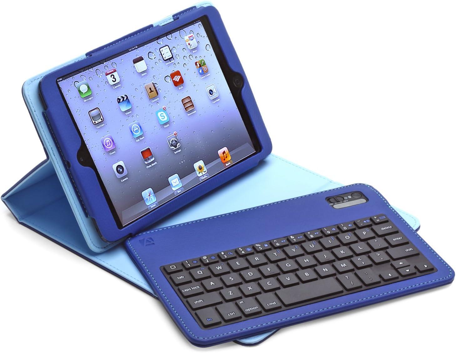 Aduro Facio Funda con Teclado Bluetooth Desmontable para Apple iPad (Paquete al por Menor)