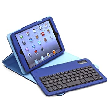 Amazon.com: Aduro facio Folio Funda con teclado Bluetooth ...