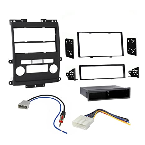 Amazon.com: Nissan Frontier 2009-2013 Double Din Dash Kit with Wire