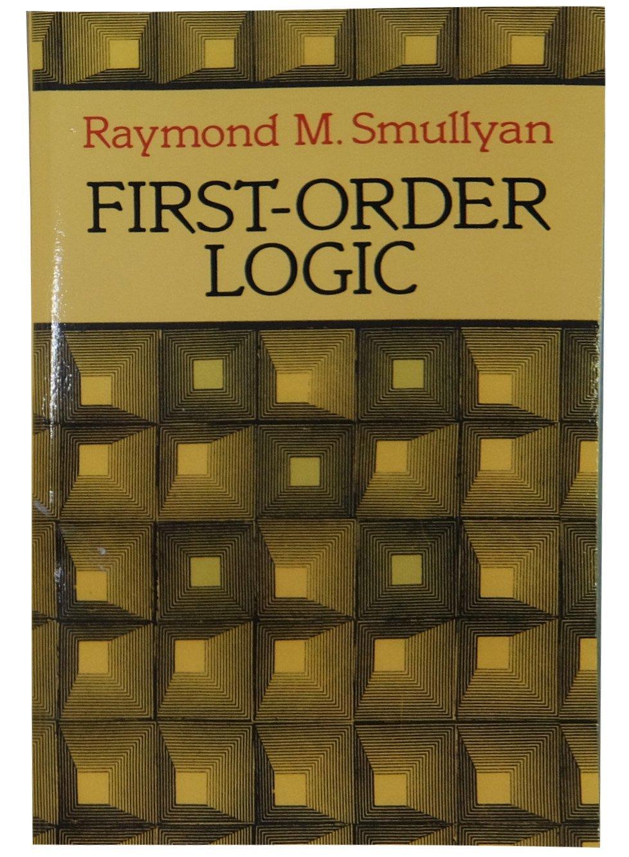 FIRST ORDER LOGIC SMULLYAN EBOOK DOWNLOAD