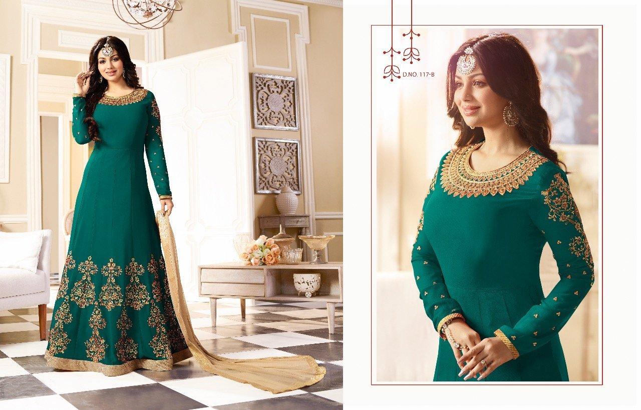 Black Friday Sale Bollywood Designer Wedding Wear Salwar Suit Lehenga Dress Kaftan Women MuslimEthnic Traditional 592 (4, Green) by ETHNIC EMPORIUM (Image #2)