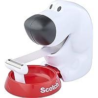 Scotch C31, Dog-810, Plakbandroller in Hondenvorm (Incl. 1 Rol Plakband, 19 Mm X 8,9 M), Wit