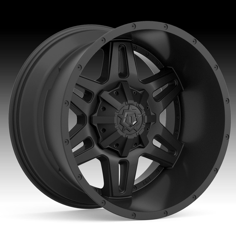 TIS 538B Satin Black 20x10 6x135 / 6x5.5 -19mm (538B-2106819)
