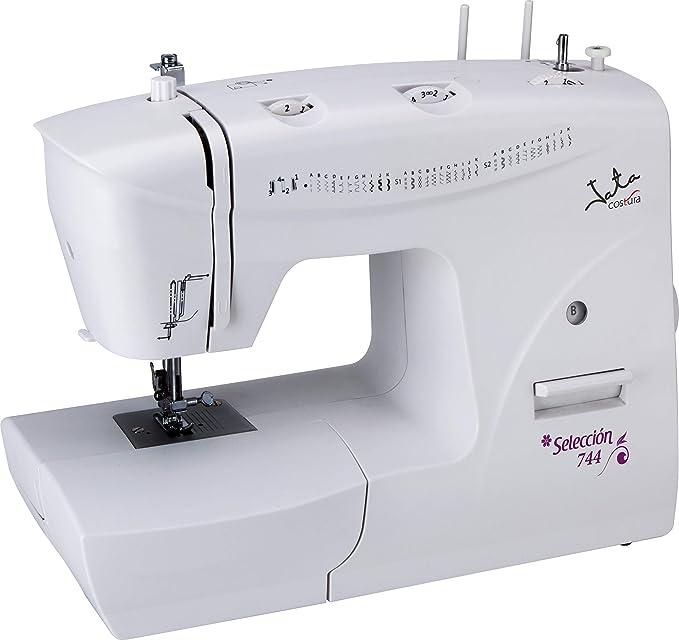 Jata MC744 Máquina de Coser con 33 Diseños de Puntada Pespunte y ...