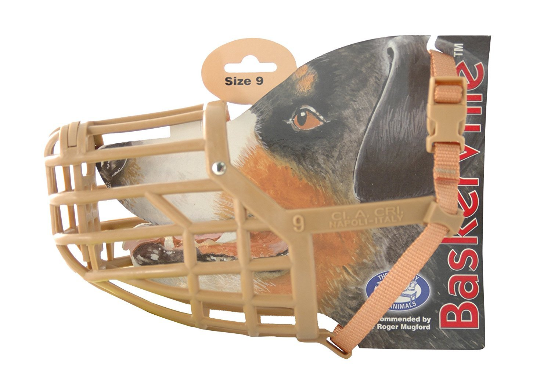 Company of Animals Baskerville Dog Muzzle, Size 9, Suitable for Dobermann German Shepherd....