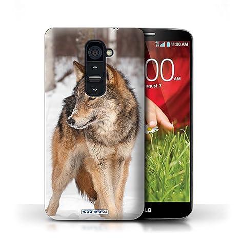 Carcasa/Funda STUFF4 dura para el LG G2 / serie: Animales de ...