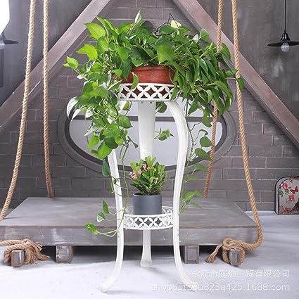 CWLLWC Flor Parrilla, balcón de Varios Pisos Marco botánico ...
