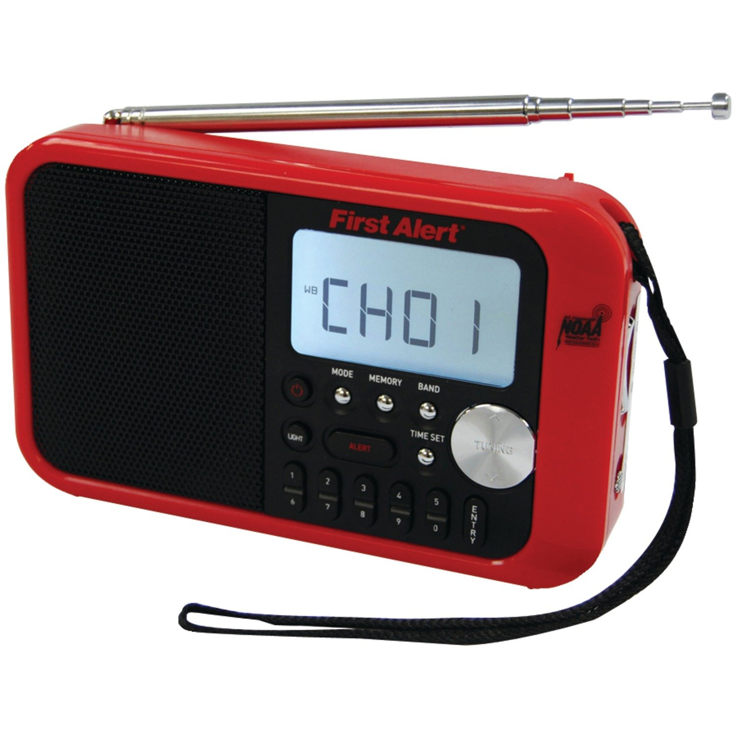 First Alert SFA1100 AM/FM Weather Band Radio with Weather Alert and Clock
