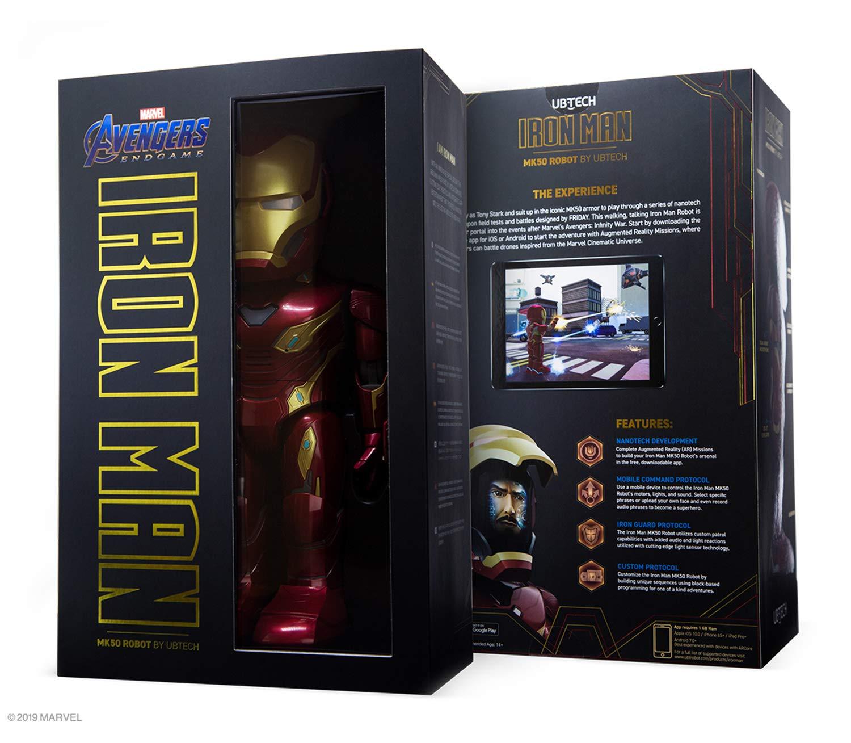 UBTECH Marvel Avengers: Endgame Iron Man Mk50 Robot by UBTECH (Image #3)
