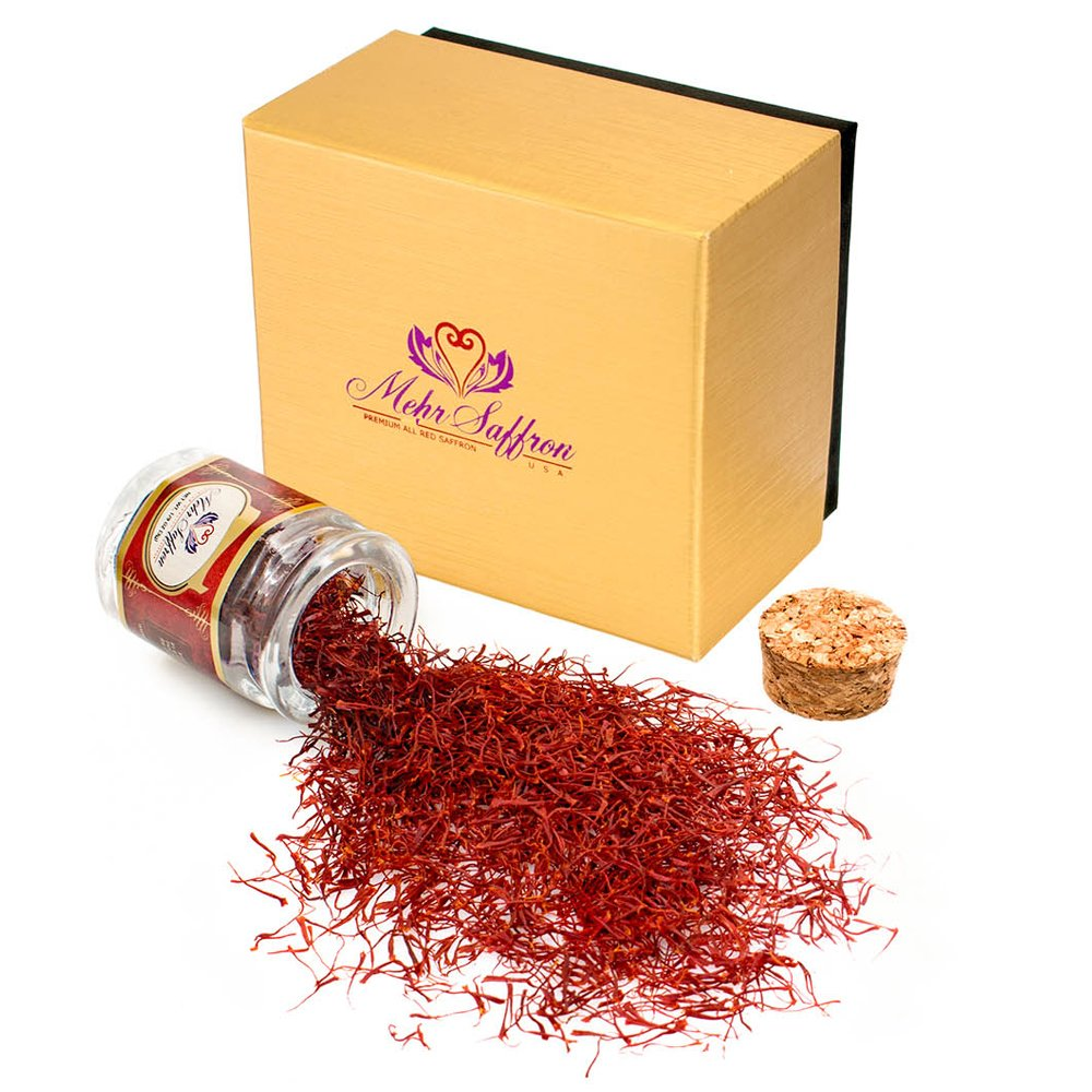 Amazon.com : Indian Kashmir Saffron 1 Gram : Saffron ...