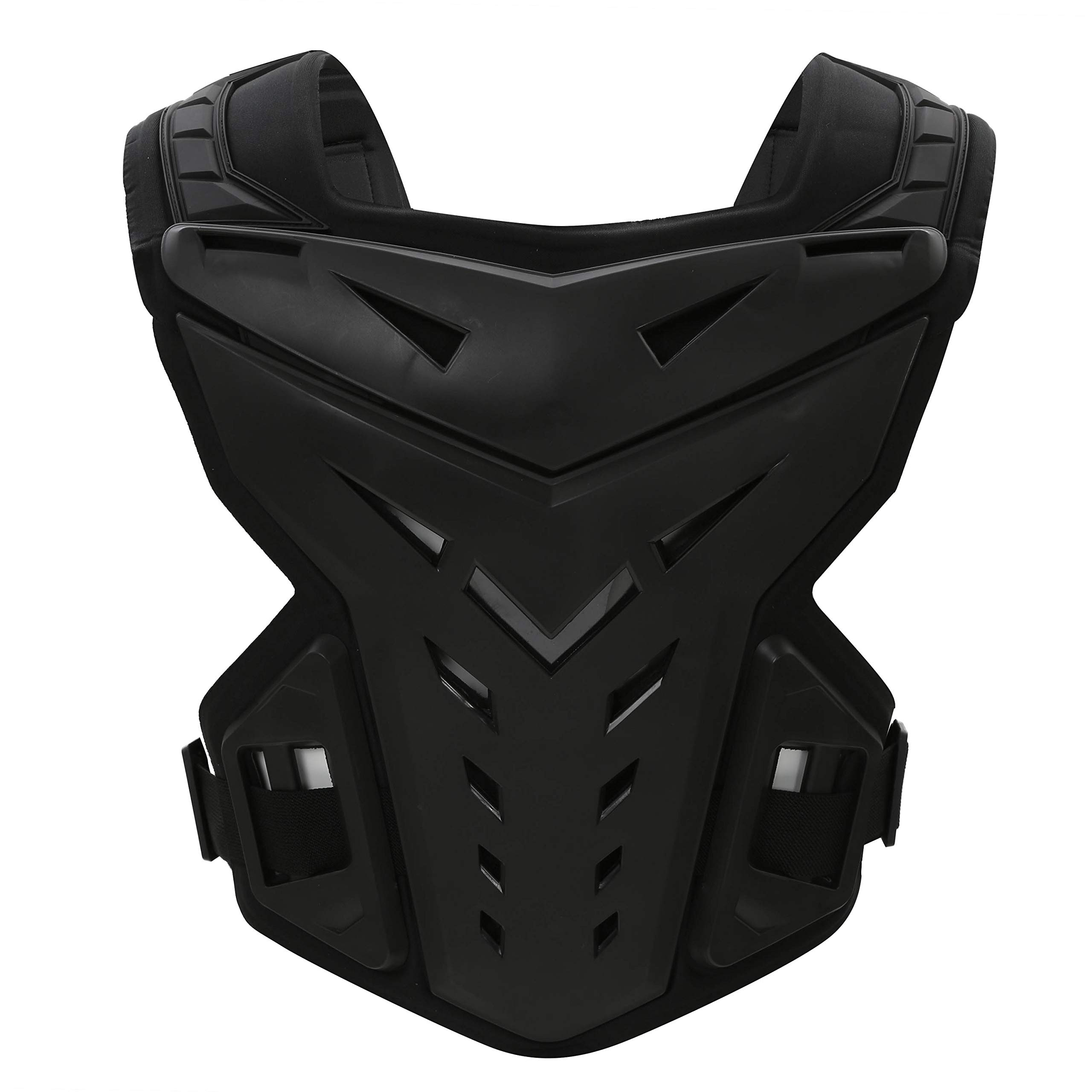 OHMOTOR Chest Back Protector Motorcycle Armor Vest Motorcycle Riding Chest Armor (Black) by OHMOTOR (Image #1)