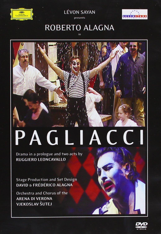 DVD : Roberto Alagna - Pagliacci (Subtitled)