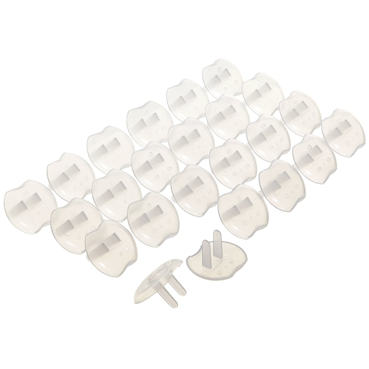 Dreambaby Outlet Plugs, 24-Pack, White L1821