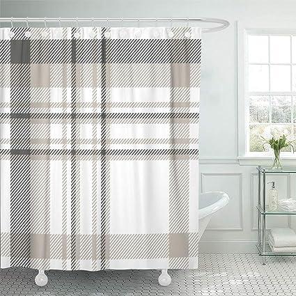 Amazoncom Emvency Shower Curtain Set Waterproof Adjustable