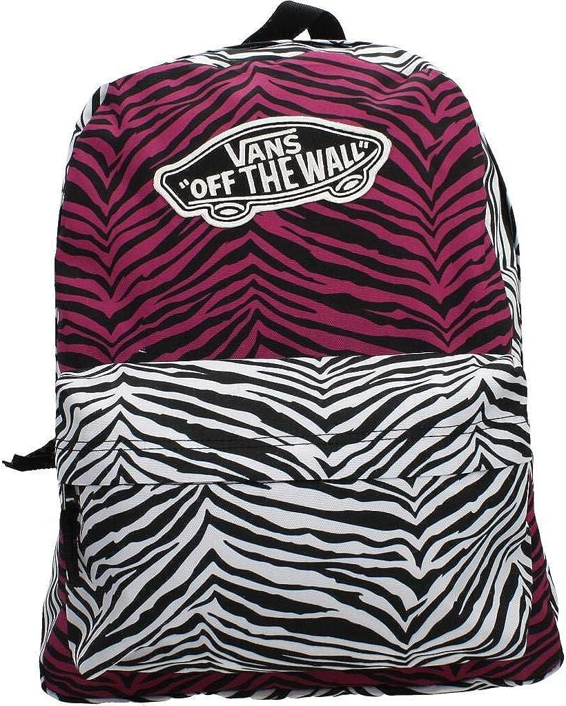 Vans Realm Backpack Magenta Haze White Zebra