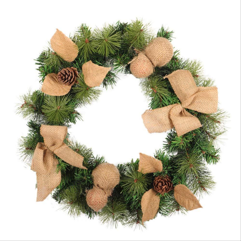 CHHGS Christmas wreathNueva Gran Corona De Navidad Bienvenida ...