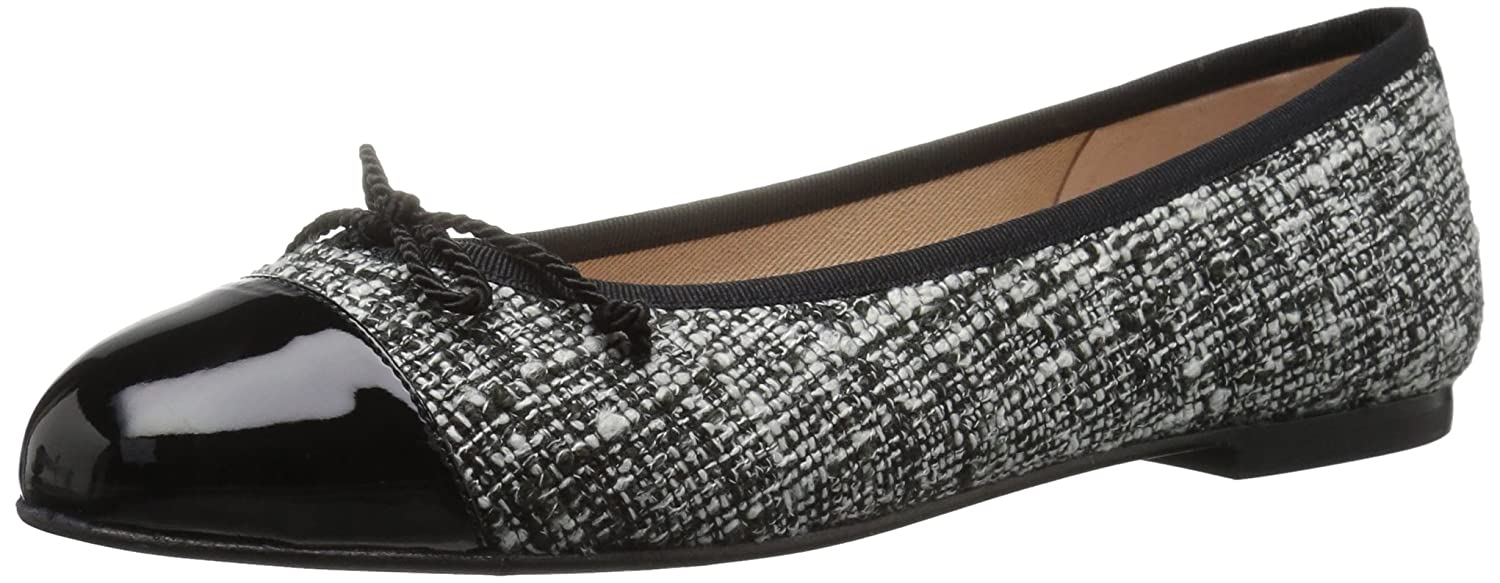 French Sole FS/NY Women's Vanity B07146LSJW 10.5 B(M) US|Black/White