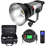 Pixel 120W Continuous Output Lighting - 5600K Daylight Balanced Dimmable LED Video Lamp, Illuminance 0.5M 98000Lux/ Bowens Mo