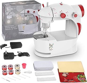 Amazon.com: KPCB - Máquina de coser para niños con bolsa de ...