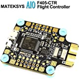 Matek AIO F4 Flight Controller ( Intergreted PDB 4*30A , Bateflight OSD , BEC 5V/2A , SD Card Slot , VCP+5x UARTs , Current Sensor 184A ) for FPV Racing RC Drone Quadcopter by LITEBEE