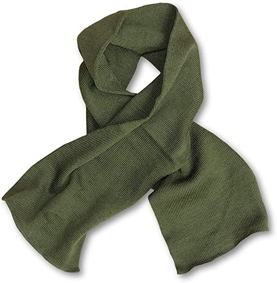 US Army Genuine GI Military Wool Scarf US Made Warm Winter Neck Scarf