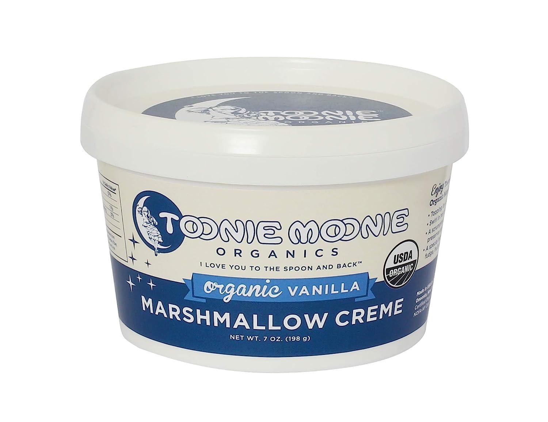 Toonie Moonie Organics, Organic Marshmallow Creme, 7 Ounce