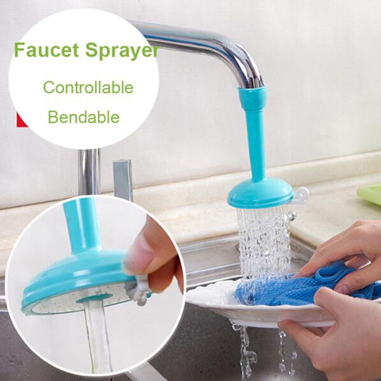 Toyofmine Kitchen Water-saving Faucet Shower Filter Shower Head Flower Sprayer