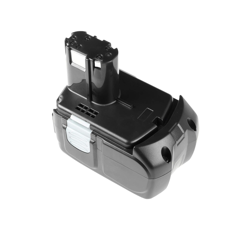 Bater/ía para Hitachi DS14DVF2 de Herramienta El/éctrica 2.5Ah 14.4V Li-Ion Panasonic Celdas GC/®